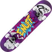 Pow II Purple Mini 7.25inch Complete Skateboard