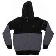 Prospect Sherpa Zip Fleece Hoody - Black
