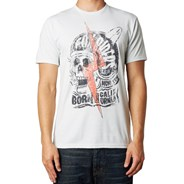 Grip S/S T-Shirt - Heather Chalk