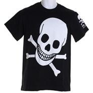 Large Skull S/S T-Shirt - Black