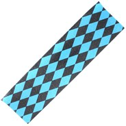 Diamonds Black/Blue Scooter Griptape