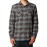 Nico L/S Flannel Shirt - Dark Fatigue
