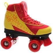 Retro Quad Roller Skates - Ruby Reds