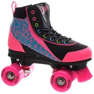 Retro Quad Roller Skates - Disco Diva