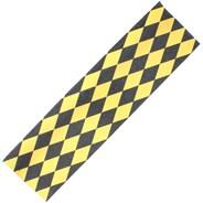 Diamonds Black/Yellow Scooter Griptape