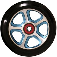 CF Filth 110mm Scooter Wheels Including Bearings - Blue/Black