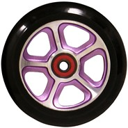 CF Filth 110mm Scooter Wheels Including Bearings - Purple/Black