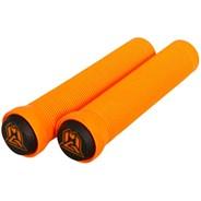 MGP Grind Handlebar Grips With Bar Ends - Orange