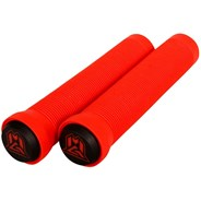 MGP Grind Handlebar Grips With Bar Ends - Red