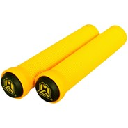 MGP Grind Handlebar Grips With Bar Ends - Yellow