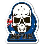 MGP AUS Skull Sticker