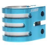Vice Oversized Double Collar Clamp - Blue