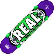 Oval Tones SM Purple/Green Complete Skateboard