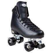 Artistic Black Quad Roller Skates