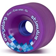 Stimulus Freeride Longboard Wheels - Purple