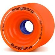In Heat Longboard Wheels - Orange