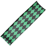 Diamonds Black/Green Scooter Griptape