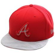 Reflect Vize Strapback Cap - Atlanta Braves