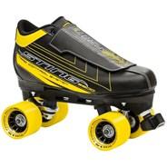 Sting 5500 Black/Yellow Quad Roller Skates