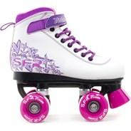 Vision II White/Pink Kids Quad Roller Skates