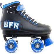 Vision II Black/Blue Kids Quad Roller Skates