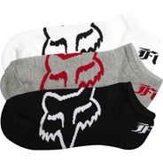 Core No Show 3-Pack Ankle Socks