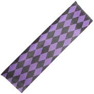 Diamonds Black/Purple Scooter Griptape