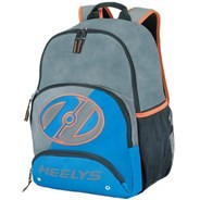 Rebel Backpack - Grey/Royal/Orange