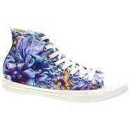All Star Hi Floral Print - Peacock Shoe 547303C
