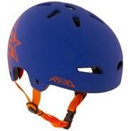 Elite Icon Blue/Orange Helmet