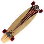 ML2032 Raider III Complete Longboard - Black/Red/Gold
