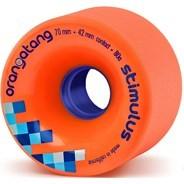 Stimulus Freeride Longboard Wheels - Orange