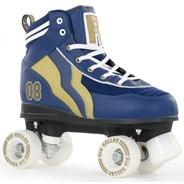 Varsity Blue/Gold Kids Quad Roller Skates