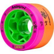 Morph 59mm 84A/88A Pink/Orange Roller Derby Skate Wheels