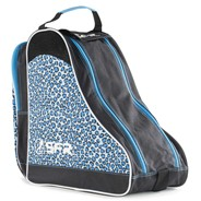 Designer Ice/Roller Skate Carry Bag - Blue Leopard