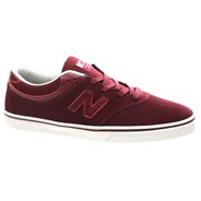 New Balance Numeric Quincy 254 Burgundy Suede Shoe