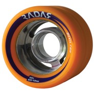 Devil Ray 62mm Roller Derby Skate Wheels- Orange