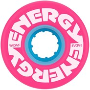 Energy 57mm 78a Roller Skate Wheels - Pink