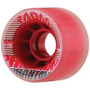 Phantom 59mm/80a Roller Skate Wheels- Clear/Red