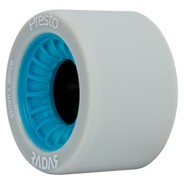 Presto 59mm/95a Roller Skate Wheels- Grey/Blue