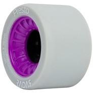 Presto 59mm/97a Roller Skate Wheels- Grey/Purple