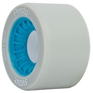 Presto 62mm/95a Roller Skate Wheels- Grey/Blue
