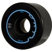 Riva 57mm/96a Roller Skate Wheels- Black