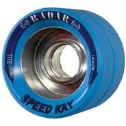 Speed Ray 62mm Roller Skate Wheels- Ice Blue