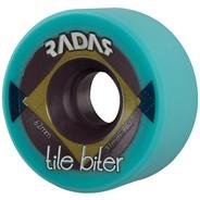 Tile Biter 62x31mm/96a Roller Skate Wheels- Turquoise