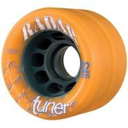 Tuner 62mm Derby Roller Skate Wheels- Orange