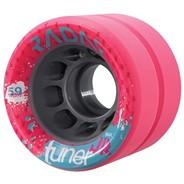 Tuner JR 59mm Derby Roller Skate Wheels- Pink