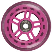Original Street 100mm Scooter Wheels and Bearings - Pink