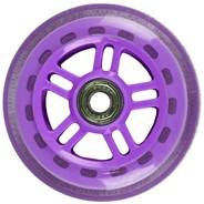 Original Street 100mm Scooter Wheels and Bearings - Purple