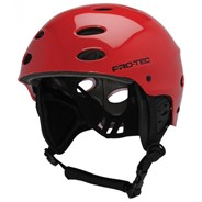 The Ace Wake Rescue Helmet - Gloss Red